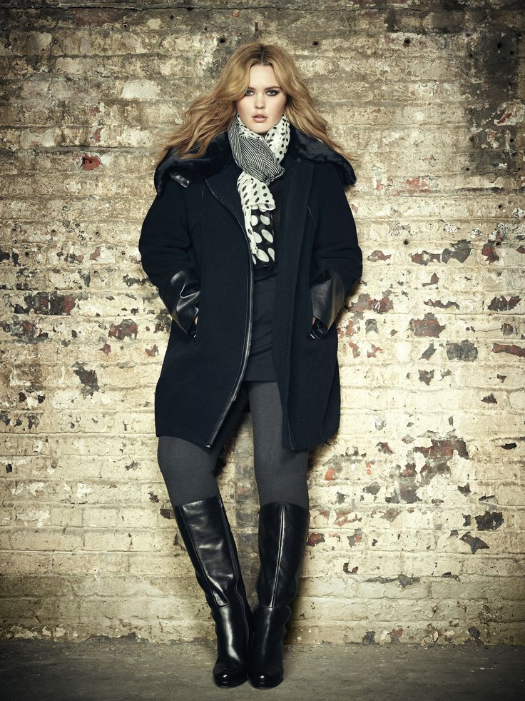 Plus-size-women-winter-fashion