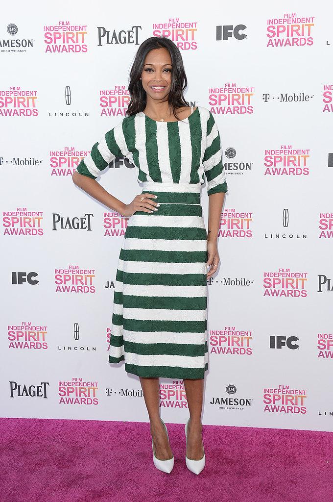 Zoe-Saldana-matched-her-green--white-Casadei-Blade-heels-790