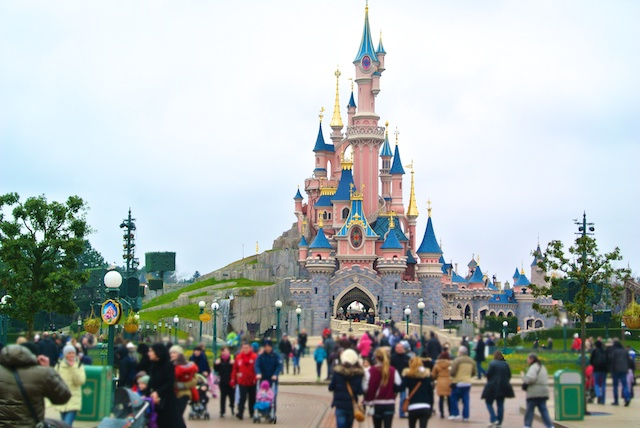 Paris-Disney-castelo