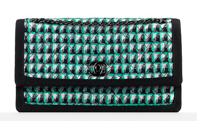 bolsa-chanel-tweed-flap-bag-green-2800